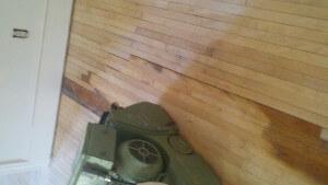 hardwood floor repair sanding