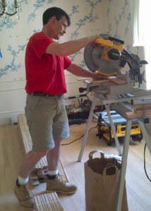 hardwood floor installation 1