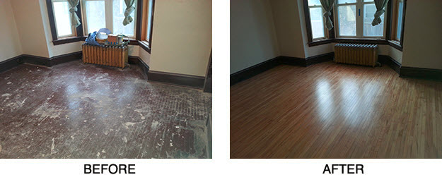 Hardwood Flooring Before Amp After Photos Woodchuck Flooring