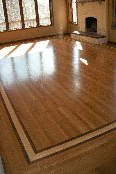 Hardwood Floor Border