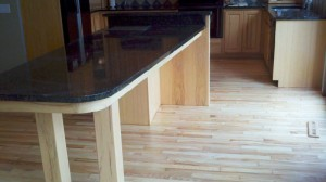 Hardwood Floor Kitchen Installation