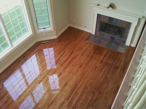 Hardwood Floor Refinishing Living Room